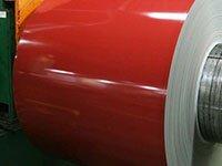 Aluminum painted coil